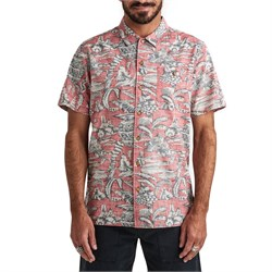 Roark Misty Morning Woven Short-Sleeve Shirt