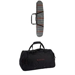 Burton Space Sack Snowboard Bag ​+ Burton Boothaus 2.0 Large Bag