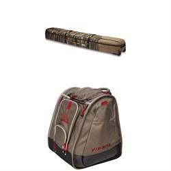 Dakine Boundary Ski Roller Bag + Kulkea Boot Trekker Boot Bag