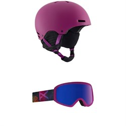 Anon Greta Helmet - Women's ​+ Anon Insight Goggles - Women's