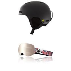 Giro Ledge MIPS Helmet + Dragon X2 Goggles