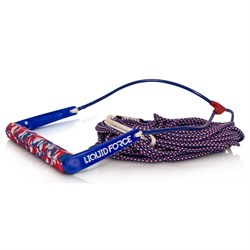 Liquid Force Team Handle ​+ H-Braid Dyneema 70 ft Mainline