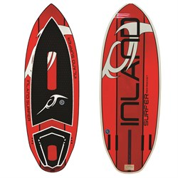 Inland Surfer Red Rocket Wakesurf Board