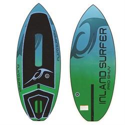 Inland Surfer Pro Shuv Metallic 134 Skim Wakesurf Board