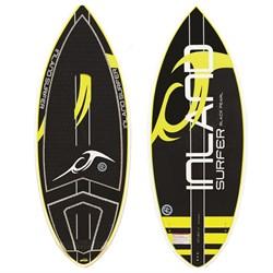 Inland Surfer Black Pearl Skim Wakesurf Board