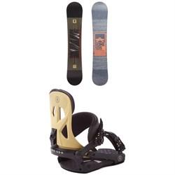 Rome Reverb Rocker SE Snowboard + Rome Arsenal Snowboard Bindings