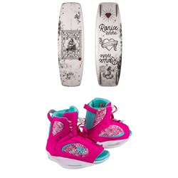 Ronix Quarter 'Til Midnight Wakeboard ​+ Luxe Wakeboard Bindings - Women's