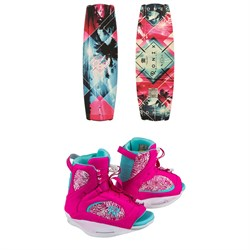 Ronix Krush Wakeboard ​+ Luxe Wakeboard Bindings - Women's