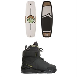 Liquid Force Peak Wakeboard ​+ Trek 4D Wakeboard Bindings