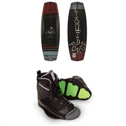 Liquid Force Classic Wakeboard ​+ Transit Wakeboard Bindings