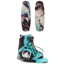 Liquid Force Angel Wakeboard ​+ Plush Wakeboard Bindings - Women's 2018
