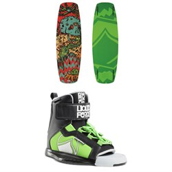 Liquid Force Rant Wakeboard ​+ Rant Wakeboard Bindings - Boys' 2018