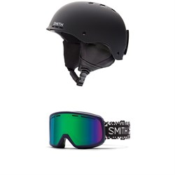 d7345fa06d6 Smith Holt Helmet + Smith Range Goggles