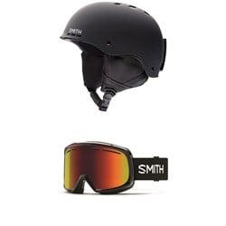 Smith Holt Helmet + Smith Range Goggles