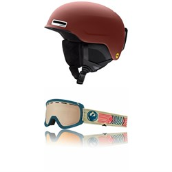 Smith Maze MIPS Helmet ​+ Dragon D1 OTG Goggles