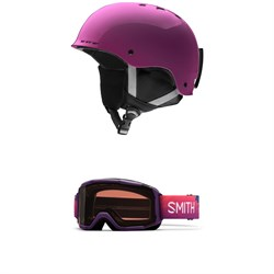 Smith Holt Jr. Helmet - Big Kids' ​+ Smith Daredevil Goggles - Kids'
