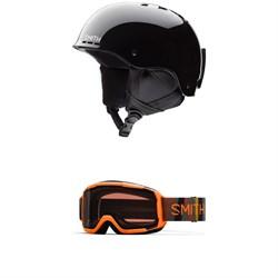 Smith Holt Jr. Helmet - Big Kids' + Smith Daredevil Goggles - Kids'