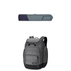 Dakine Fall Line Ski Roller Bag + Dakine Boot Pack DLX 55L
