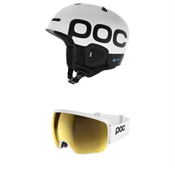 POC Auric Cut Backcountry SPIN Helmet ​+ POC Orb Clarity Goggles