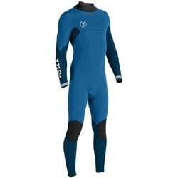 Vissla 7 Seas 4/3 Back Zip Wetsuit - Big Boys'