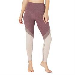 Beyond Yoga Spacedye Tri-Panel High Waisted Midi Leggings - Women's