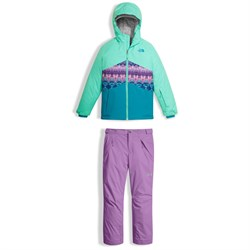 The North Face Brianna Jacket + Freedom Insulated Pants - Big Girls'