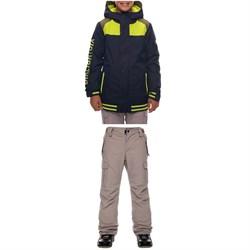 686 Captain Insulated Jacket + All Terrain Insulated Pants - Big Boys'