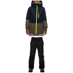 686 Jinx Insulated Jacket + All Terrain Insulated Pants - Big Boys'