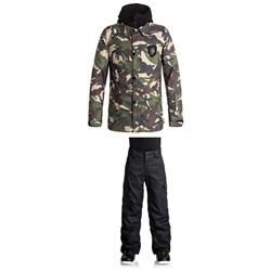 DC Cash Only Jacket + Banshee Pants - Boys'