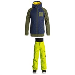 DC Troop Jacket + Banshee Pants - Boys'