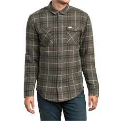 RVCA Andrew Reynolds Plaid Flannel Shirt