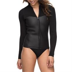 Roxy 2mm Satin Full Zip Long Sleeve Wetsuit Jacket - Women's