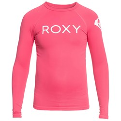 Roxy Funny Waves Long Sleeve Rashguard - Girls'