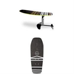 WAKEFOIL Complete Package + WAKEFOIL EVA Surf Pad