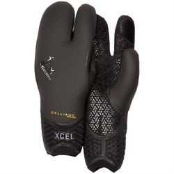 XCEL 3mm Drylock TDC 3 Finger Gloves