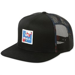 RVCA All The Way Trucker Print Hat