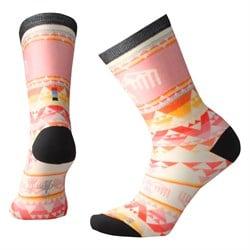 Smartwool Bird Geo Print Crew Socks - Women's