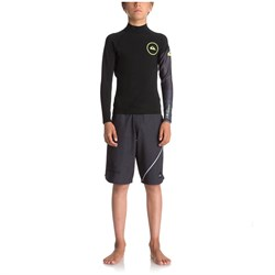 Quiksilver 1mm Syncro New Wave Long Sleeve Jacket - Boys'