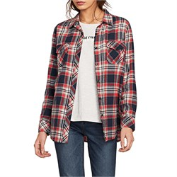 Volcom Getting Rad Plaid Shirt - Women's