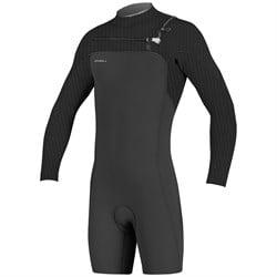 O'Neill 2mm Hyperfreak Chest Zip Long Sleeve Spring Suit