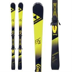 Fischer RC4 Speed Allride Skis + Z11 Powerrail Bindings - Boys'
