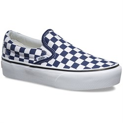 Vans Classic Slip-On Platform Shoes - Women's