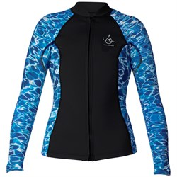 XCEL Ocean Ramsey Axis 2​/1mm Long Sleeve Front Zip Wetsuit Jacket - Women's