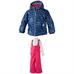 Obermeyer Crystal Jacket + Snoverall Pants - Little Girls'