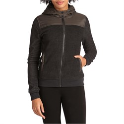Holden Sherpa Hybrid Zip Up Hoodie - Women's