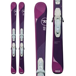 Rossignol Temptation Pro Skis ​+ Kid X 4 Bindings - Girls'