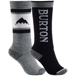 Burton Weekend Midweight Socks 2-Pack - Big Kids'
