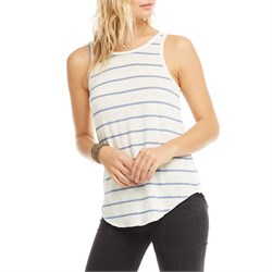 Chaser Linen Jersey Scoop Back Tank Top - Women's