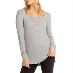 Chaser Thermal Crewneck Raglan Shirt - Women's