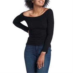Z Supply The Long-Sleeve Off-Shoulder Top - Women's